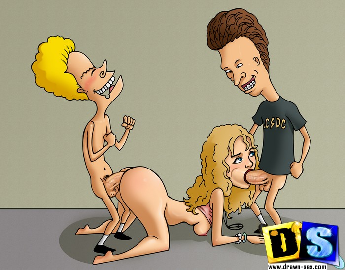 Beavis and Butthead pussy of Daria